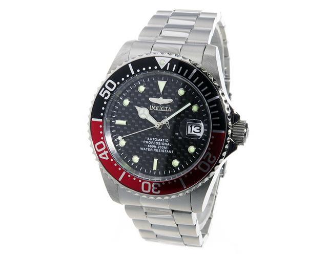 インヴィクタメタルバンド腕時計