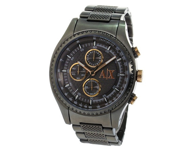 エクスチェンジメタルバンド腕時計