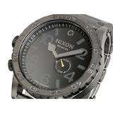 ニクソン NIXON 51-30 腕時計 A057-680 ALL GUNMETAL BLACK