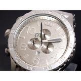 ニクソン NIXON 51-30 CHRONO 腕時計 A083-1033 ALL RAW STEEL