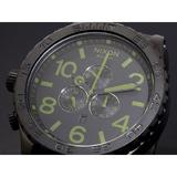 ニクソン 51-30 CHRONO 腕時計 A083-1042 MATTE BLACK SURPLUS