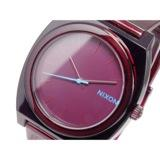 ニクソン TIME TELLER P クオーツ 腕時計 A119-1782 TRANSLUCENT BURGUNDY