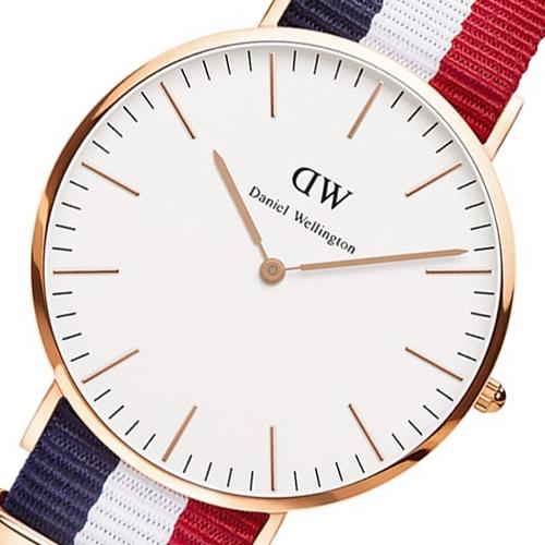 ダニエル ウェリントン ケンブリッジ/ローズ 40mm クオーツ 腕時計 0103DW