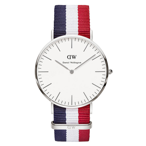ダニエル ウェリントン ケンブリッジ/シルバー 40mm クオーツ 腕時計 0203DW