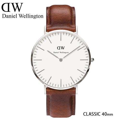 ダニエル ウェリントン セントモース/シルバー 40mm クオーツ 腕時計 0207DW