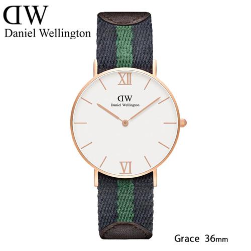 ダニエル ウェリントン ワーウィック/ローズ クオーツ 36mm 腕時計 0553DW