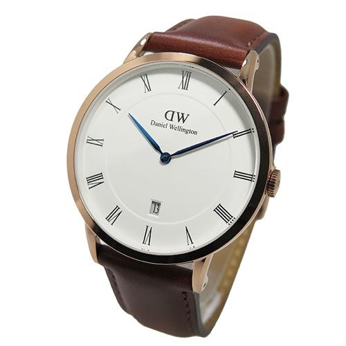 ダニエル ウェリントン クラシック リーディング/シルバー 40mm 腕時計 0214DW 1100DW