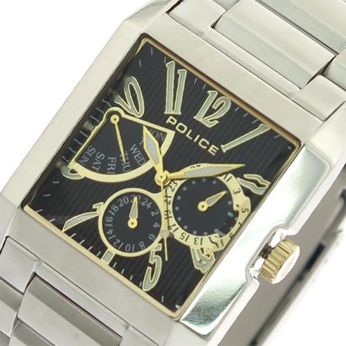ポリス POLICE 腕時計 メンズ 13789MS-02M クォーツ ブラック シルバー></a><p class=blog_products_name