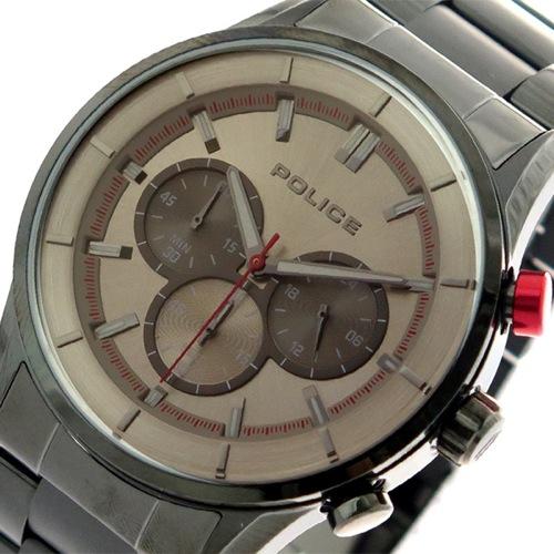 ポリス POLICE 腕時計 メンズ 15001JSU-13M クォーツ メタルグレー ガンメタ></a><p class=blog_products_name