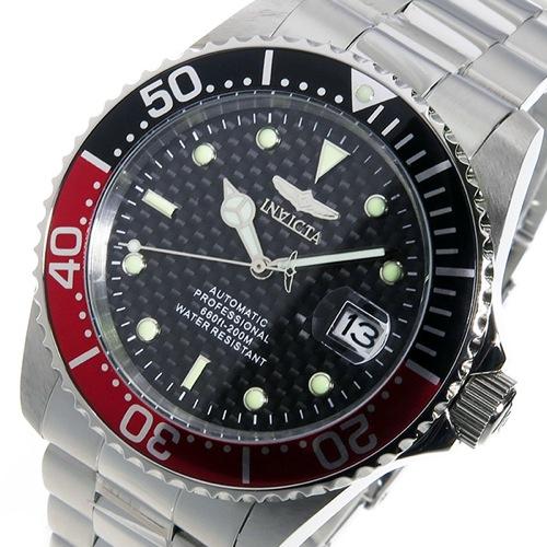 インヴィクタ INVICTA 自動巻き メンズ 腕時計 15585 レッド/ブラック></a><p class=blog_products_name