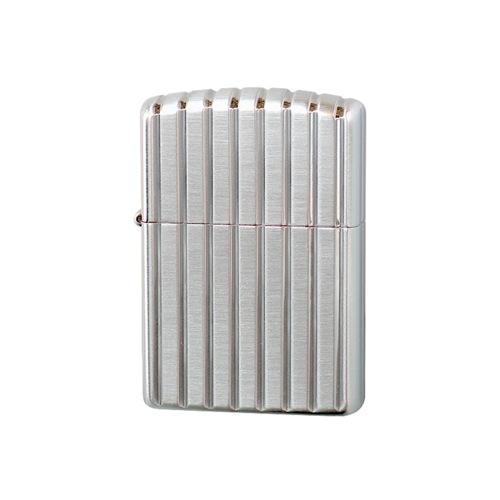 ジッポ ZIPPO アーマー 5面彫刻 プラチナ メンズ 喫煙具 162E-PS シルバー