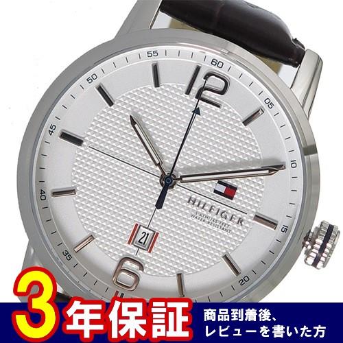 トミーヒルフィガー クオーツ メンズ 腕時計 1791217 ホワイト