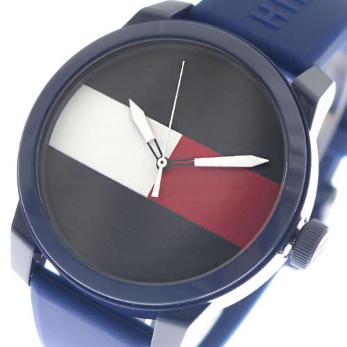 トミーヒルフィガー TOMMY HILFIGER 腕時計 メンズ レディース 1791322 ネイビー></a><p class=blog_products_name