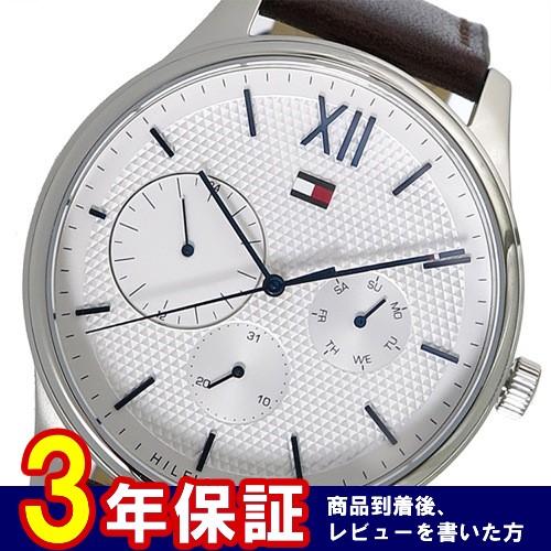 トミーヒルフィガー クロノ クオーツ メンズ 腕時計 1791418 ホワイト