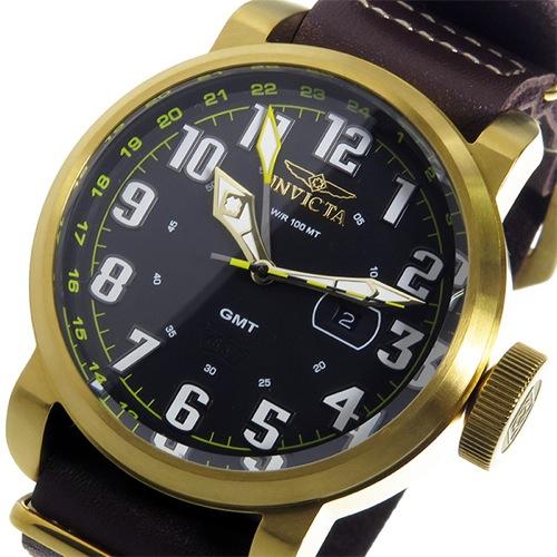 インヴィクタ INVICTA クオーツ メンズ 腕時計 18888 ブラック/ゴールド></a><p class=blog_products_name