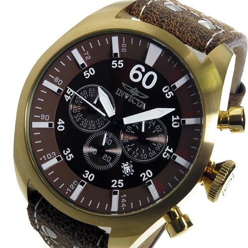 インヴィクタ INVICTA クオーツ メンズ 腕時計 19669 ブラウン