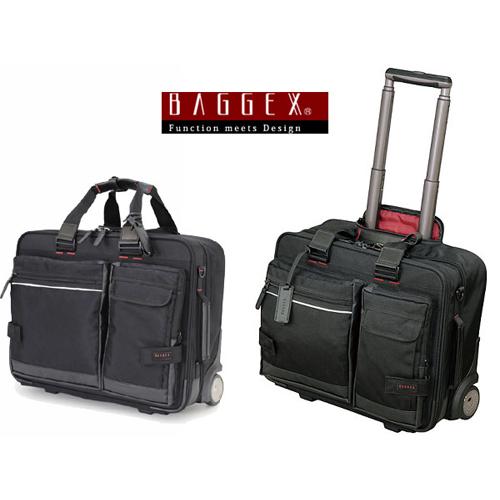 バジェックス BAGGEX ビジネスキャリーバッグ メンズ 23-5531 ブラック