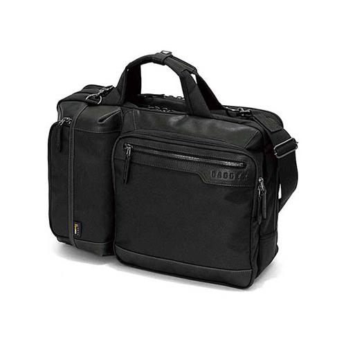 バジェックス BAGGEX ステルス ブリーフケース W 3WAY 23-5556-10 ブラック