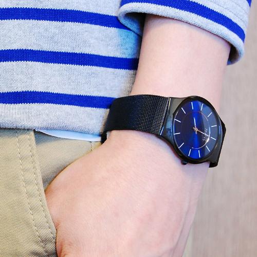 スカーゲン SKAGEN メンズ ウルトラスリム チタン 腕時計 233LTMN
