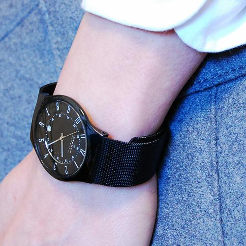 スカーゲン SKAGEN メンズ ウルトラスリム チタン 腕時計 233XLTMB