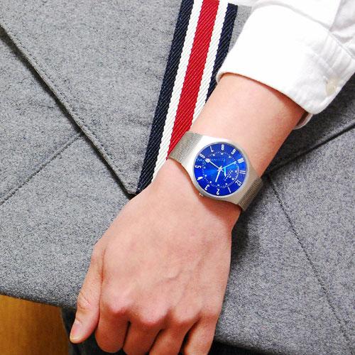 スカーゲン SKAGEN メンズ ウルトラスリム チタン 腕時計 233XLTTN