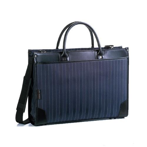 アンディハワード ストライプ ビジネスバッグ メンズ 2654303 ネイビー