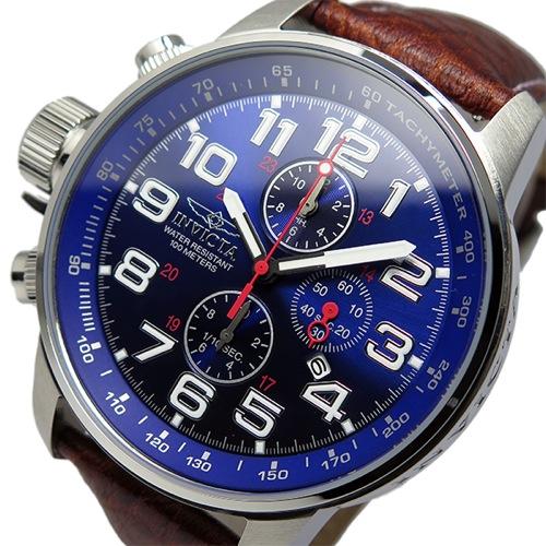 インヴィクタ INVICTA クロノ クオーツ メンズ 腕時計 3328 ネイビー