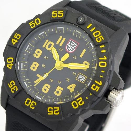 ルミノックス LUMINOX 腕時計 メンズ 3505 クォーツ ブラック></a><p class=blog_products_name