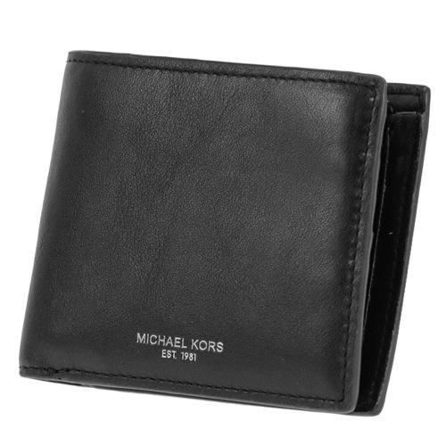 マイケル コース 二つ折り 短財布 小銭入れ付 メンズ 39F6SOWF3L-001