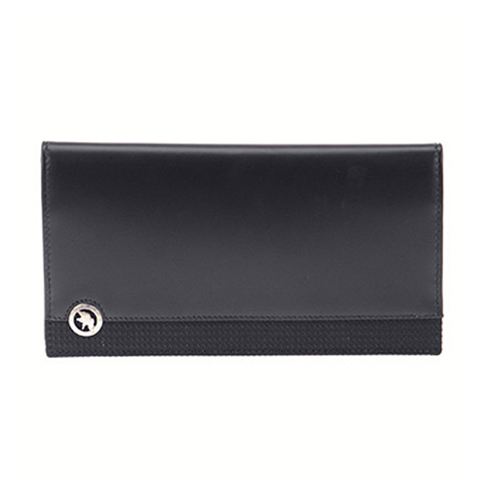 ハンティング ワールド 長財布 メンズ 523-220 SANDUKU-DURA/BLK ブラック