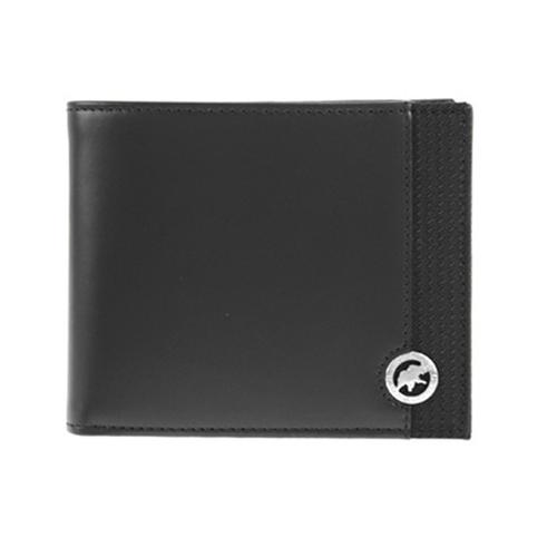 ハンティング ワールド 二つ折り短財布 メンズ 528-220 SANDUKU-DURA/BLK