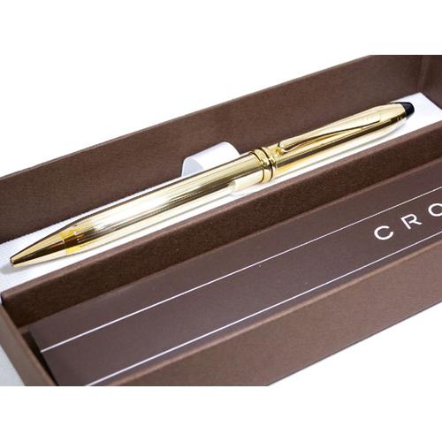 クロス CROSS タウンゼント ボールペン 702 イエローゴールド