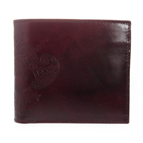 オロビアンコ メンズ 二つ折り短財布 FIRIPPO-I3 TRILOGIA EBANO ブラウン