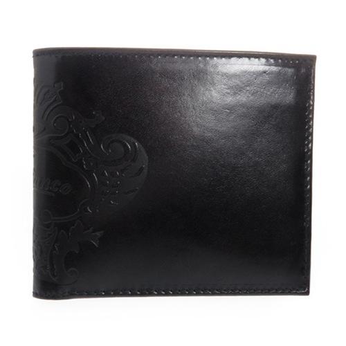オロビアンコ メンズ 二つ折り短財布 FIRIPPO-I3 TRILOGIA NERO ブラック