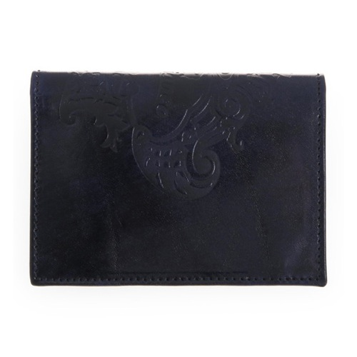 オロビアンコ メンズ カードケース FIGARO-I3 TRILOGIA NAVY ネイビー