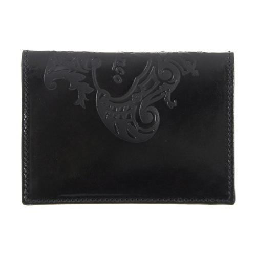 オロビアンコ メンズ カードケース FIGARO-I3 TRILOGIA NERO ブラック