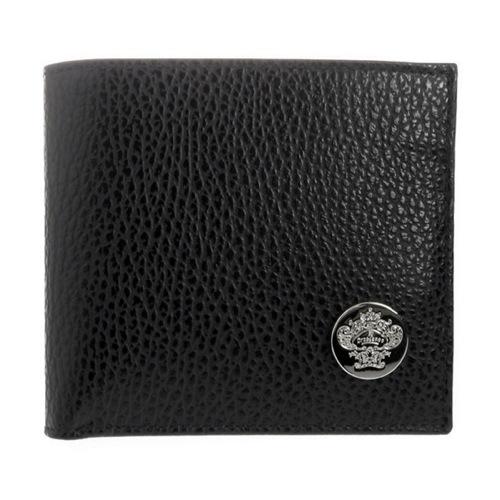オロビアンコ メンズ 二つ折り短財布 FIRIPPO-F DOL NERO/SAF WINE ブラック