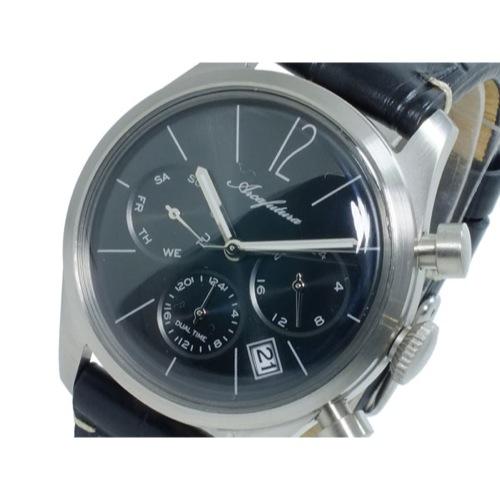 アルカ フトゥーラ ARCA FUTURA クオーツ メンズ デュアルタイム 腕時計 866BKBK
