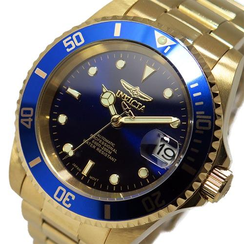 138e86f3b8 【送料無料】インヴィクタ INVICTA 自動巻き メンズ 腕時計 8930OB ネイビー
