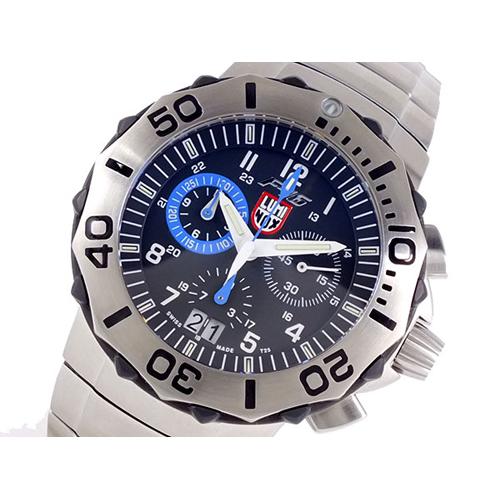 ルミノックス LUMINOX F-16 ファイティングファルコン 9124 メンズ 腕時計 ブラック×ブルー