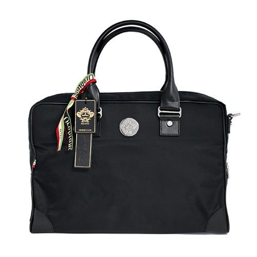 オロビアンコ ビジネスバッグ ブリーフケース 97253 VERNE AD-D NY-NERO-99 VI-NERO-99 ブラック