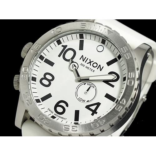 ニクソン NIXON 51-30 PU 腕時計 メンズ A058-793 ホワイト