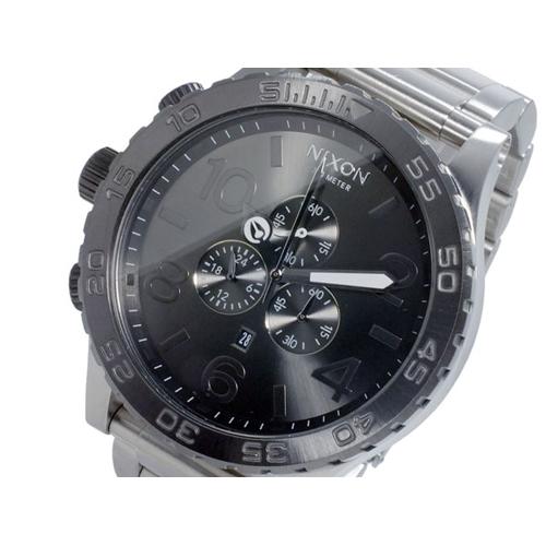 ニクソン NIXON 51-30 CHRONO クオーツ メンズ クロノ 腕時計 A083-1762 SILVER GUNMETAL シルバー ガンメタル