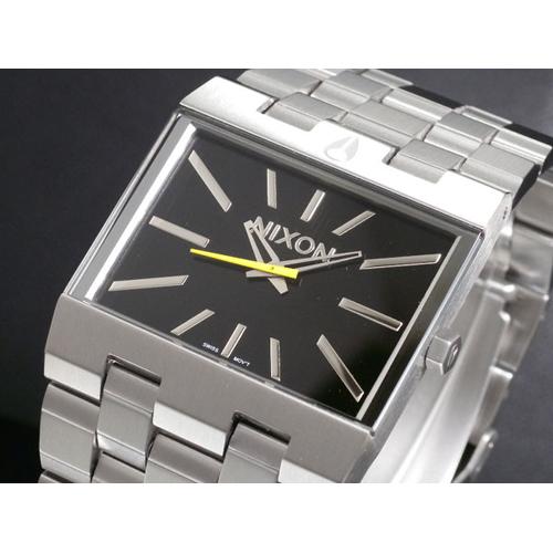 ニクソン NIXON TICKET チケット 腕時計 A085-000 BLACK