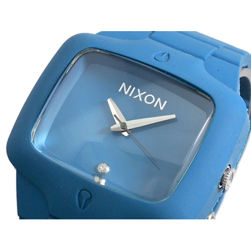 ニクソン NIXON RUBBER PLAYER 腕時計 A139-649 BLUE X