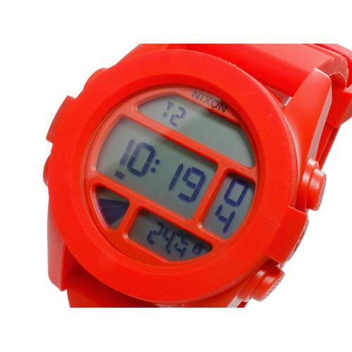 ニクソン NIXON ユニット UNIT デジタル メンズ 腕時計 A197-383 RED PEPPER レッドペッパー
