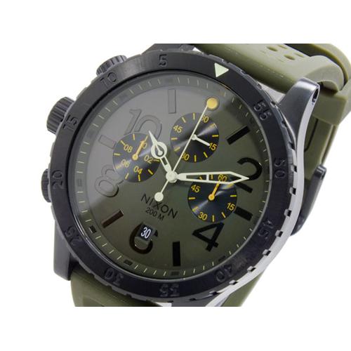 ニクソン NIXON 48-20 CHRONO P クオーツ クロノグラフ メンズ 腕時計 A278-1089