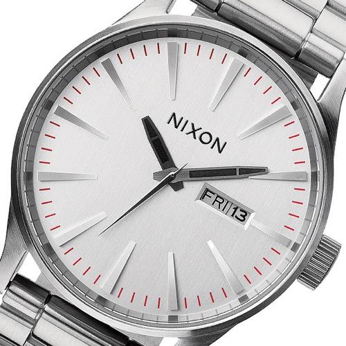 ニクソン NIXON セントリー SS クオーツ メンズ 腕時計 A356-130 シルバー