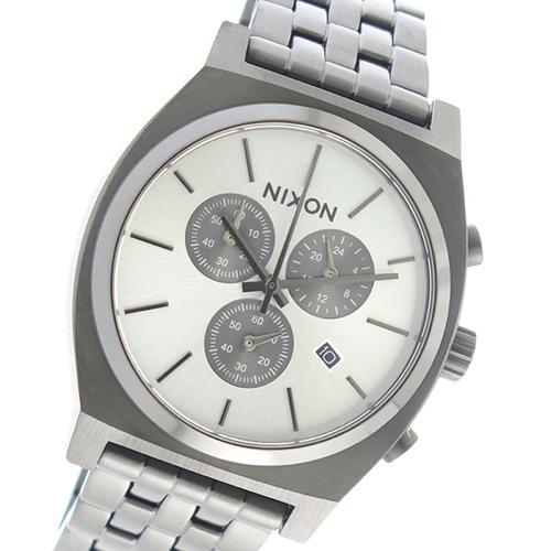 ニクソン クオーツ メンズ 腕時計 A972-632 シルバー></a><p class=blog_products_name