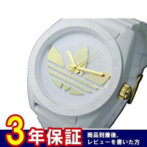 アディダス ADIDAS サンティアゴ SANTIAGO クオーツ メンズ 腕時計 ADH2917 ゴールド